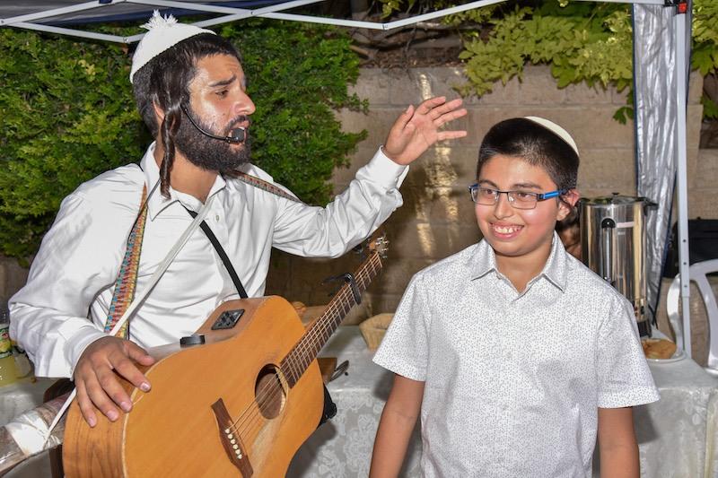 הפקת בר מצווה בכותל המערבי בירושלים