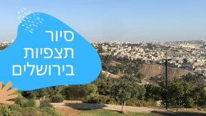 תצפית בירושלים ארמות הנציב, משכנות שאנניםם