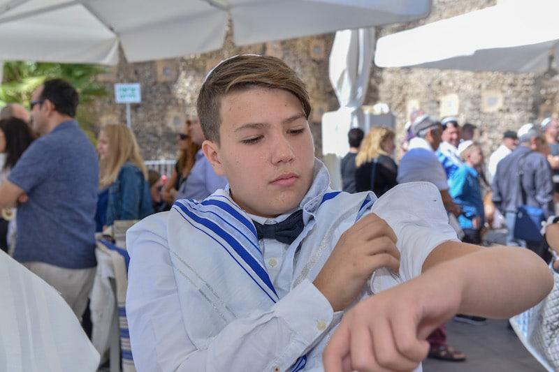 תמונה יום בר מצווה בירושלים