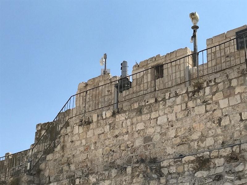 תמונה טיול חומות עיר העתיקה