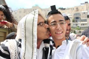 בר מצווה בכותל המערבי בירושלים