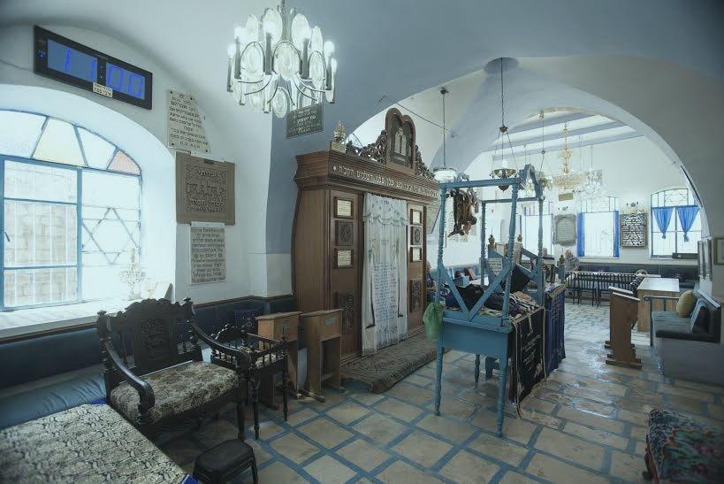 תמונה בית כנסת אבוהד בצפת