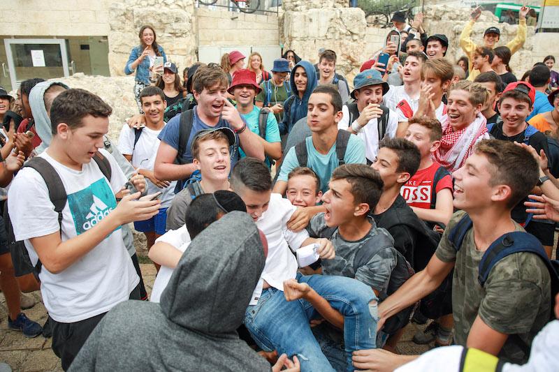 תמונה בר מצווה בירושלים