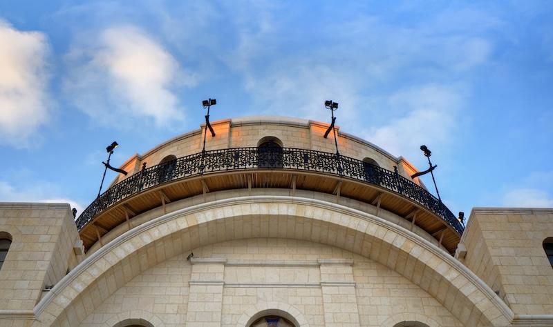 תמונה בית הכנסת החורבה