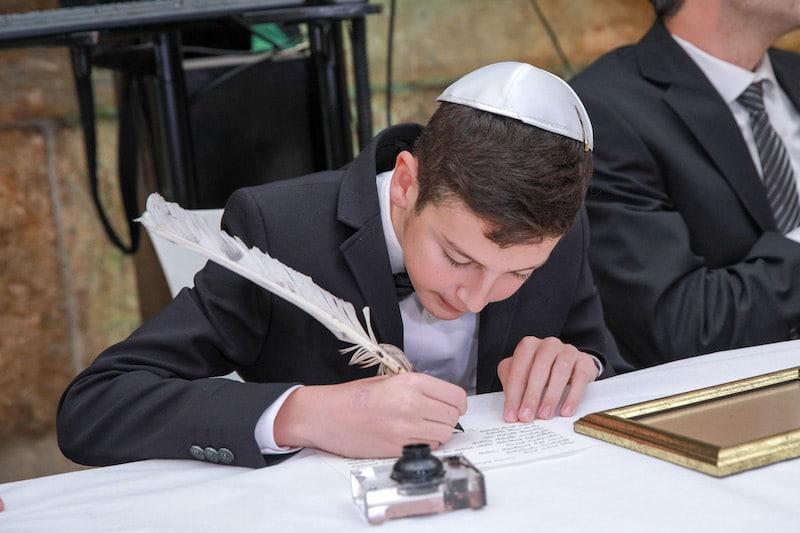 תמונה כתיבת סדנת סת״ם בכותל