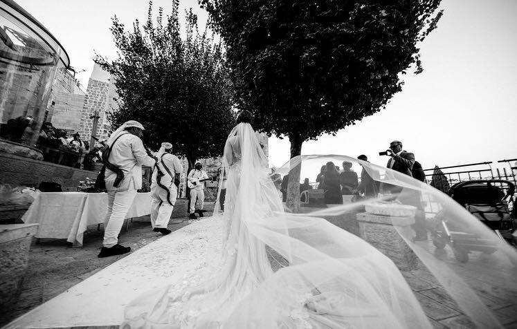 תמונה חתונה בכותל