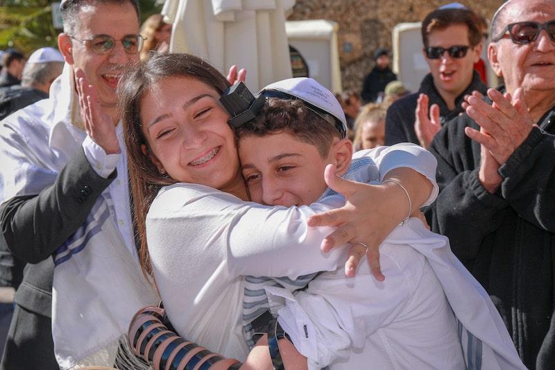 Bar Mitzvah en Israël