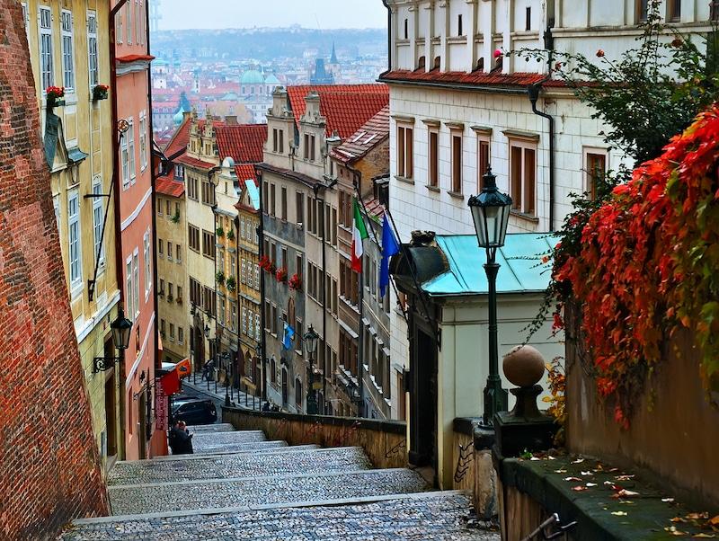 תמונה רחובות בפראג