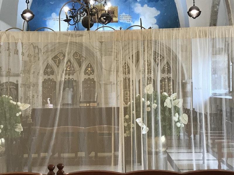 בר מצווה בבית כנסת בירושלים