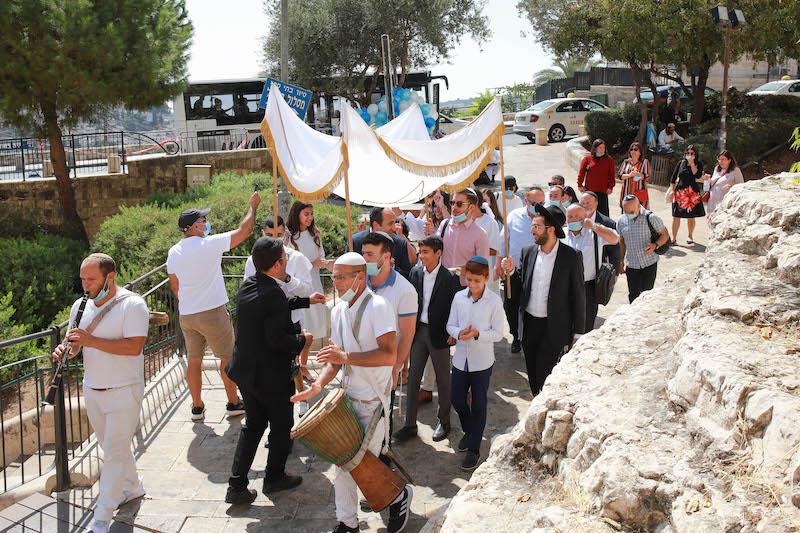 תופים ושופרות בירושלים